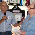 George McMillan thanking Doug Austin (Small)
