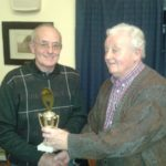 Ist Place Breeder of the Year. George McMillan (L) & Geoff Murrells (R) (Small)