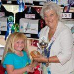 Janice Al-Nasser Presenting Best Junior AA & YB to Miss Hewitt-Spires