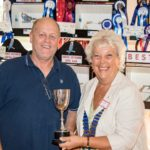 Janice Al-Nasser presenting Best Op Sex in SHow and Best Champion AA trophy to Dave Leadbetter (Small)