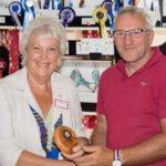 Janice Al-Nasser presenting Graham Paine Best Beginner AA trophy (Small)